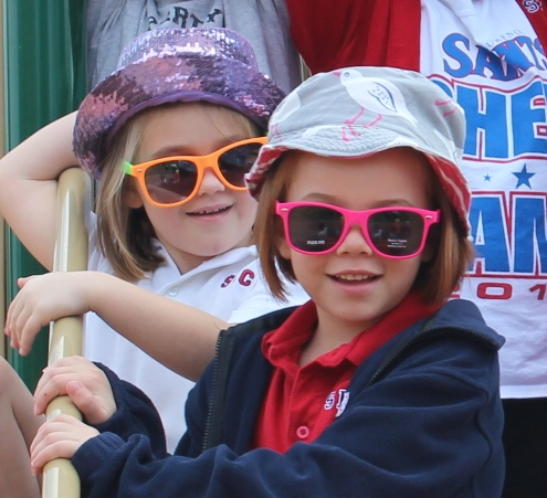 Two Girls With Sunglasses